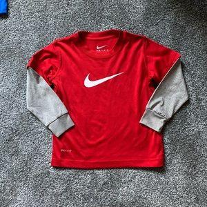 Boys Nike 3T drifit shirt